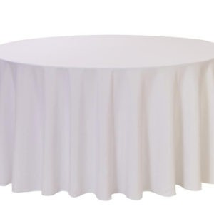 108 round table cloth Lancashire Vintage China Hire Chorley