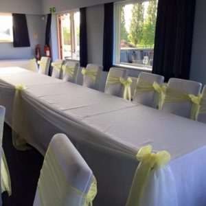 70 x 108 tablecloth hire Chorley