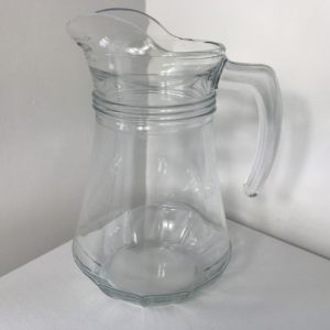 Glass Water Jug hire