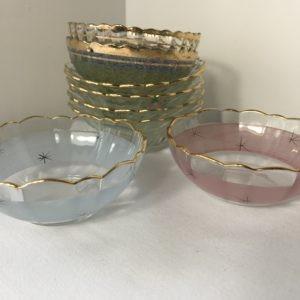 Glass bowls (Vintage) Chorley