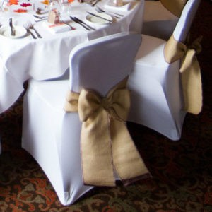 Hessian Chair Sash Hire