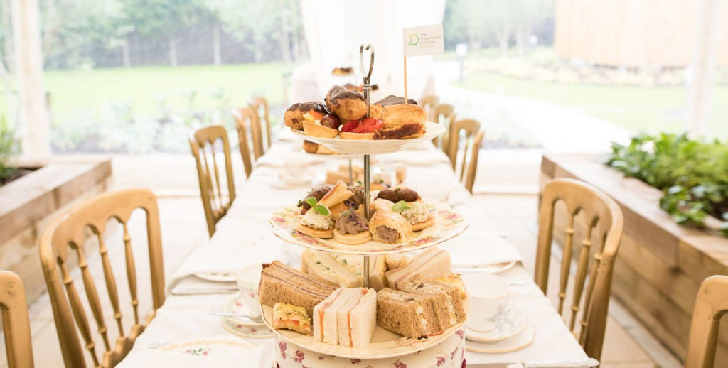 Lancashire Vintage China Hire Afternoon Tea Stand Hire