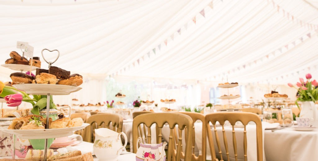Lancashire Vintage China Hire Marquee