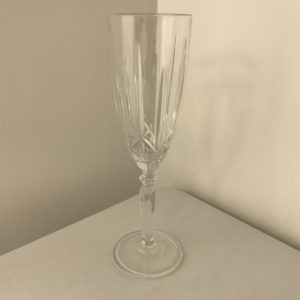 Lead Crystal Champagne Flute Hire Chorley with delivery available