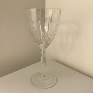 Lead Crystal Wine Glass Hire