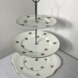 Vintage 3 Tier cake stand for hire
