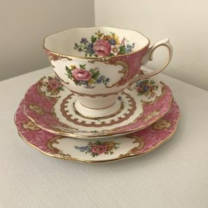 Vintage Trio: Cup, Saucer & Side Plate Hire