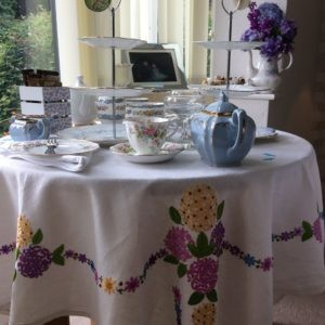 original Vintage table cloth hire
